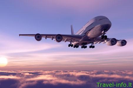 Ką žada lėktuvų bilietai?