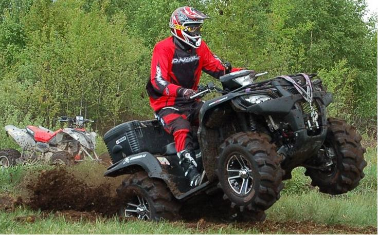Pramogos keturračiais motociklais visoje Lietuvoje