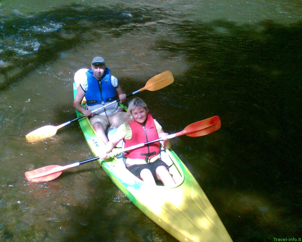 Nerealios vandens kelionės Vilnelės, Neries upėmis