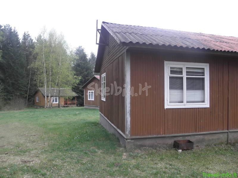 Poilsis nameliuose pušyne prie Sarių ežero