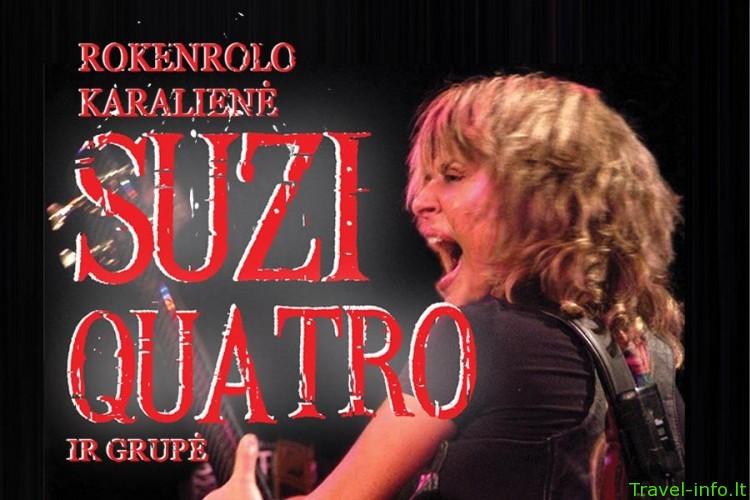 Suzi Quatro naujametinis koncertas
