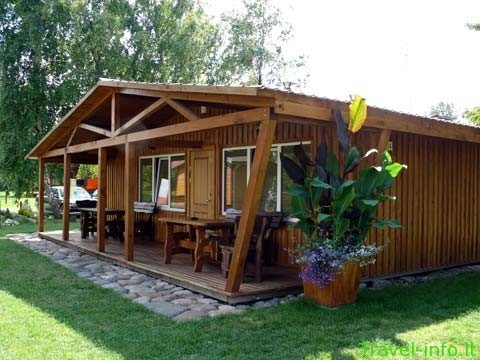 Kambarių nuoma nameliuose Šventojoje, Angleras